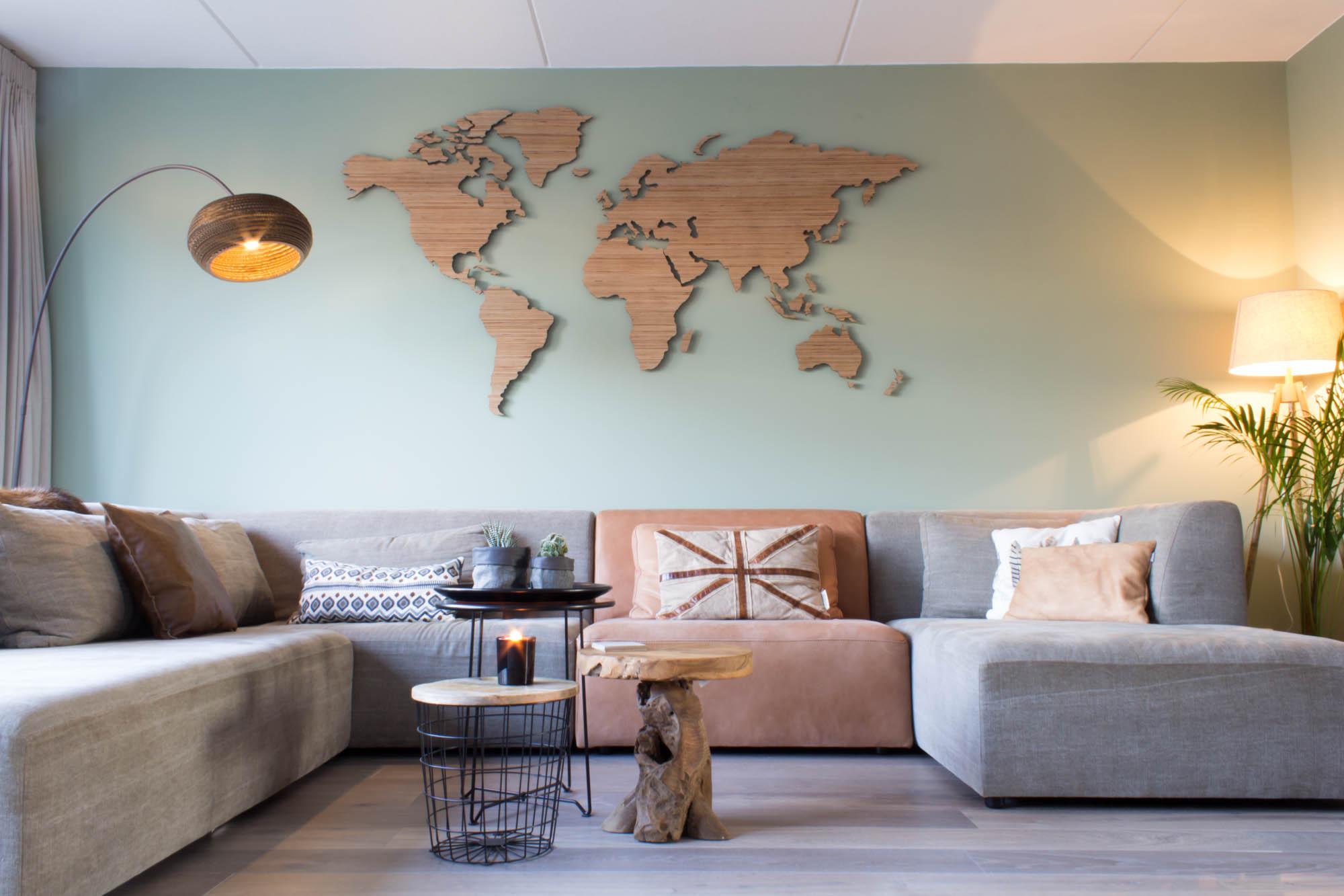 hoentjen houten wereldkaarten