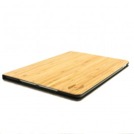 Volledig houten iPad AIR 2 bookcase - bamboe