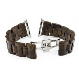 Hoentjen, houten band Apple Watch - Padouk, 38mm