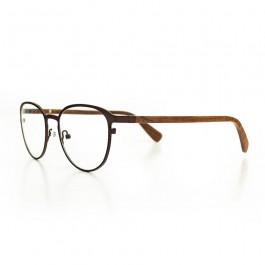 Hoentjen, houten montuur- Yukon brown