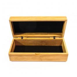 Houten koker voor uw (houten) bril - Hoentjen Creatie