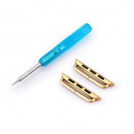 Hoentjen, Apple Watch band connector - gold