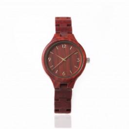 Houten horloge Maldiven - Hoentjen Creatie