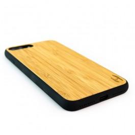 Hoentjen Creatie, Houten TPU case, iPhone 8 Plus - Bamboe