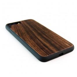 Houten TPU case, iPhone 7 Plus - padouk
