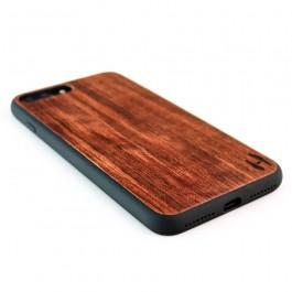 Houten TPU case, iPhone 7 Plus - palissander