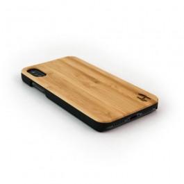 Hoentjen Creatie, Echt houten hardcase hoesje iPhone X - bamboe