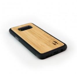 Hoentjen Creatie - Houten TPU case, Samsung Galaxy S8 plus - bamboe