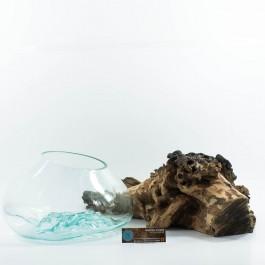 Hoentjen Creatie - Mondgeblazen vaas (serie groot) #3