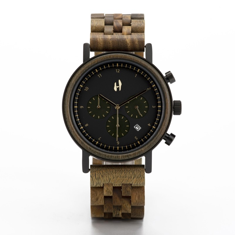 Hoentjen, houten horloge – Vancouver
