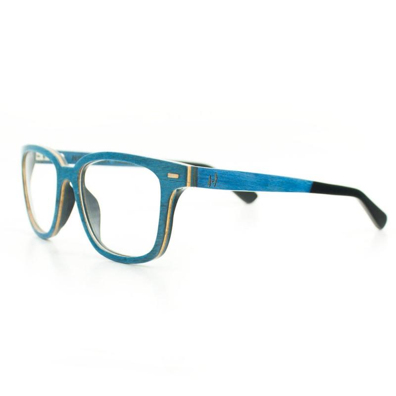 Hoentjen, houten montuur- Lahemaa Blue