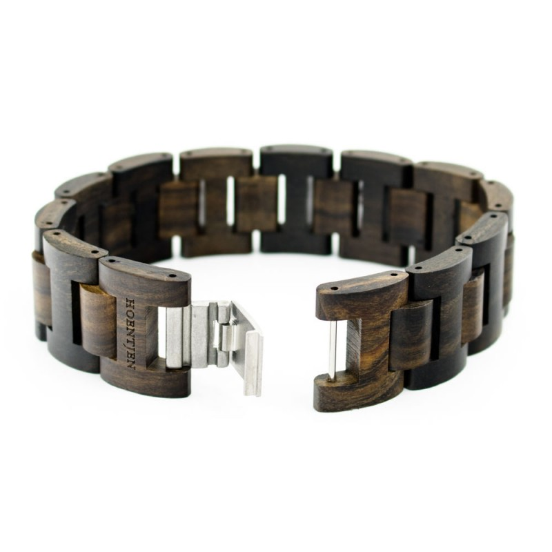 Hoentjen, houten armband - Padouk, 22mm