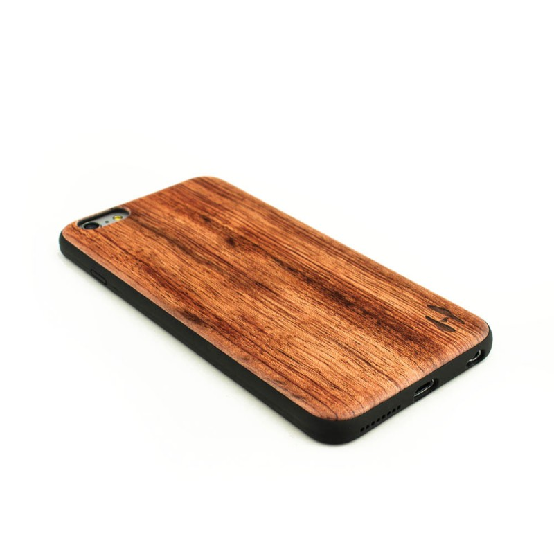 Houten TPU case, iPhone 6 Plus / 6s Plus - Palissander