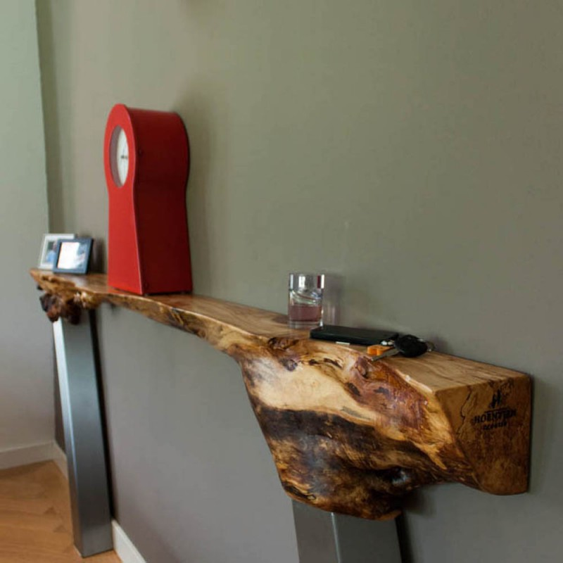 "Luxe sidetable ""Organic wood design"""