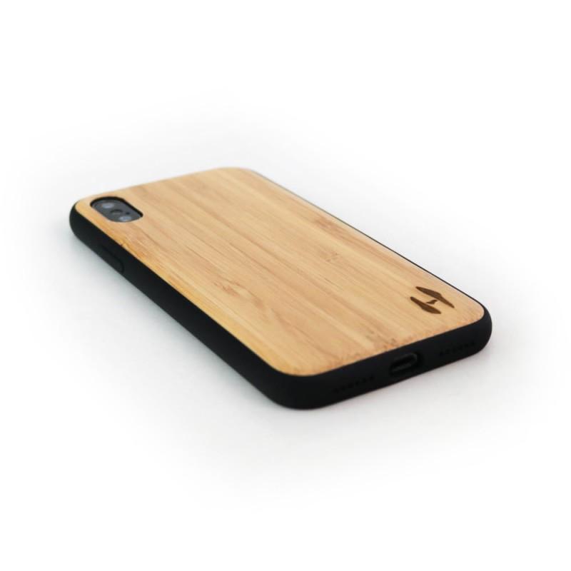 Hoentjen Creatie, Houten TPU case, iPhone X - Bamboe