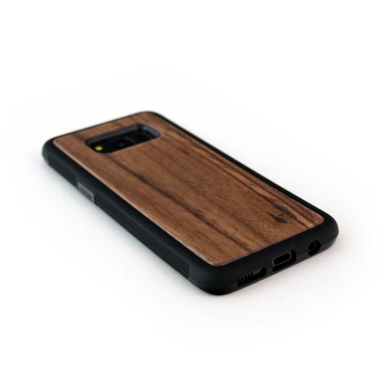 Hoentjen Creatie - Houten TPU case, Samsung Galaxy S8 - notenhout