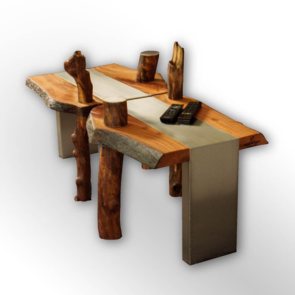 Luxe Salon Tafel.Luxe Salon Tafel Organic Wood Design