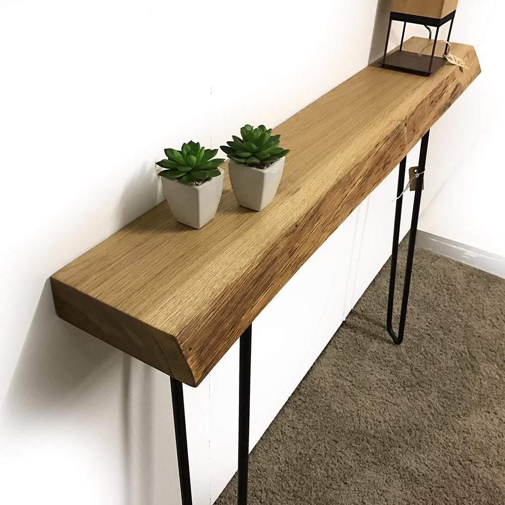 Eikenhouten sidetable van hoentjen creatie for Table 6 5 upc