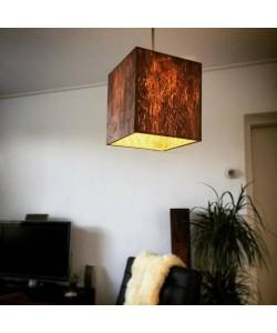 Houten hanglamp - Hoentjen Creatie