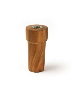 houten kandelaar 18cm