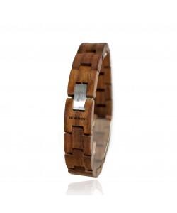 Hoentjen, houten armand - noten, 14mm
