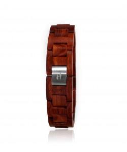 Hoentjen, houten armband - Palissander, 18mm