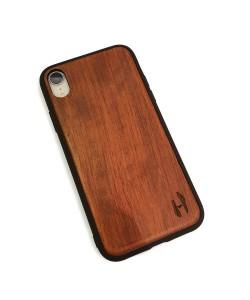 Hoentjen Creatie, Houten TPU case - iPhone XR Palissander