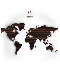 Hoentjen - Houten wereldkaart, Ebben