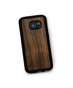 Hoentjen Creatie - Houten TPU case, Samsung Galaxy S7 - notenhout