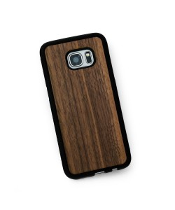 Hoentjen Creatie - Houten TPU case, Samsung Galaxy S7 Edge - notenhout