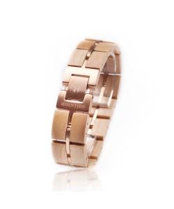 Hoentjen, houten armband - Esdoorn en roségoud 18mm