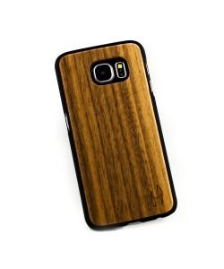Hoentjen, houten hoesje Samsung Galaxy S6 - notenhout