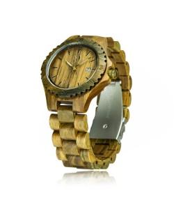 Houten horloge 'Victoria' - Hoentjen Creatie