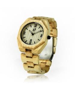 Houten horloge 'Santa Cruz' - Hoentjen Creatie