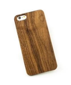 Echt houten hardcase hoesje iPhone 6+ (plus) - notenhout