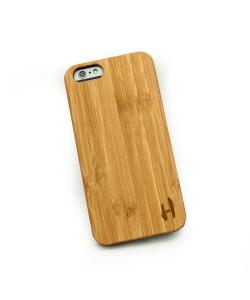 Echt houten hardcase hoesje iPhone 6 - bamboe