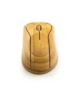 Bamboe bluetooth muis - Hoentjen Creatie