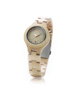 Hoentjen, houten horloge – Maui, rosé goud