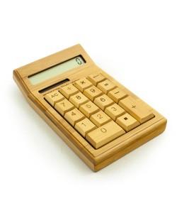 Bamboe rekenmachine - Hoentjen Creatie