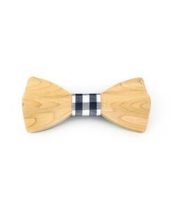 Hoentjen, Luxe houten vlinder strik - Esdoorn