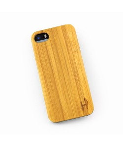 Hoentjen - Bamboo hard case hoesje iPhone SE