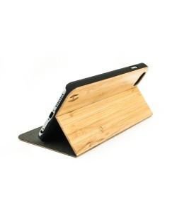 Houten design flip case, iPhone 6+ (PLUS) – Bamboe