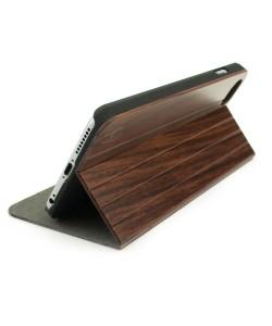 Houten design flip case, iPhone 6+ (PLUS) – Padouk