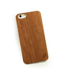 Houten hoesje iPhone 6 Plus / 6S Plus  kersenhout