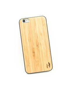 Houten TPU case, iPhone 6 Plus / 6s Plus - Bamboe