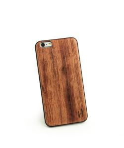 Houten TPU case, iPhone 6 Plus / 6s Plus - Palissander