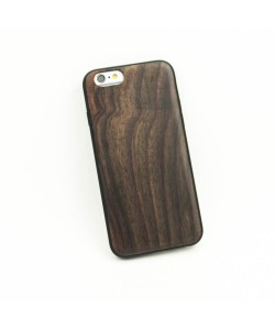 Houten TPU case, iPhone 6 / 6s - Padouk