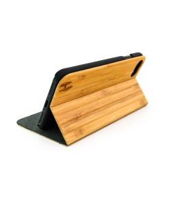 Hoentjen Creatie, Houten design flip case, iPhone 7 – Bamboe