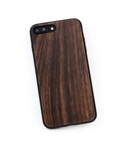 Houten TPU case, iPhone 8 Plus - padouk