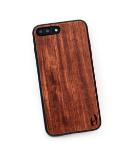 Houten TPU case, iPhone 7 Plus - Palissander